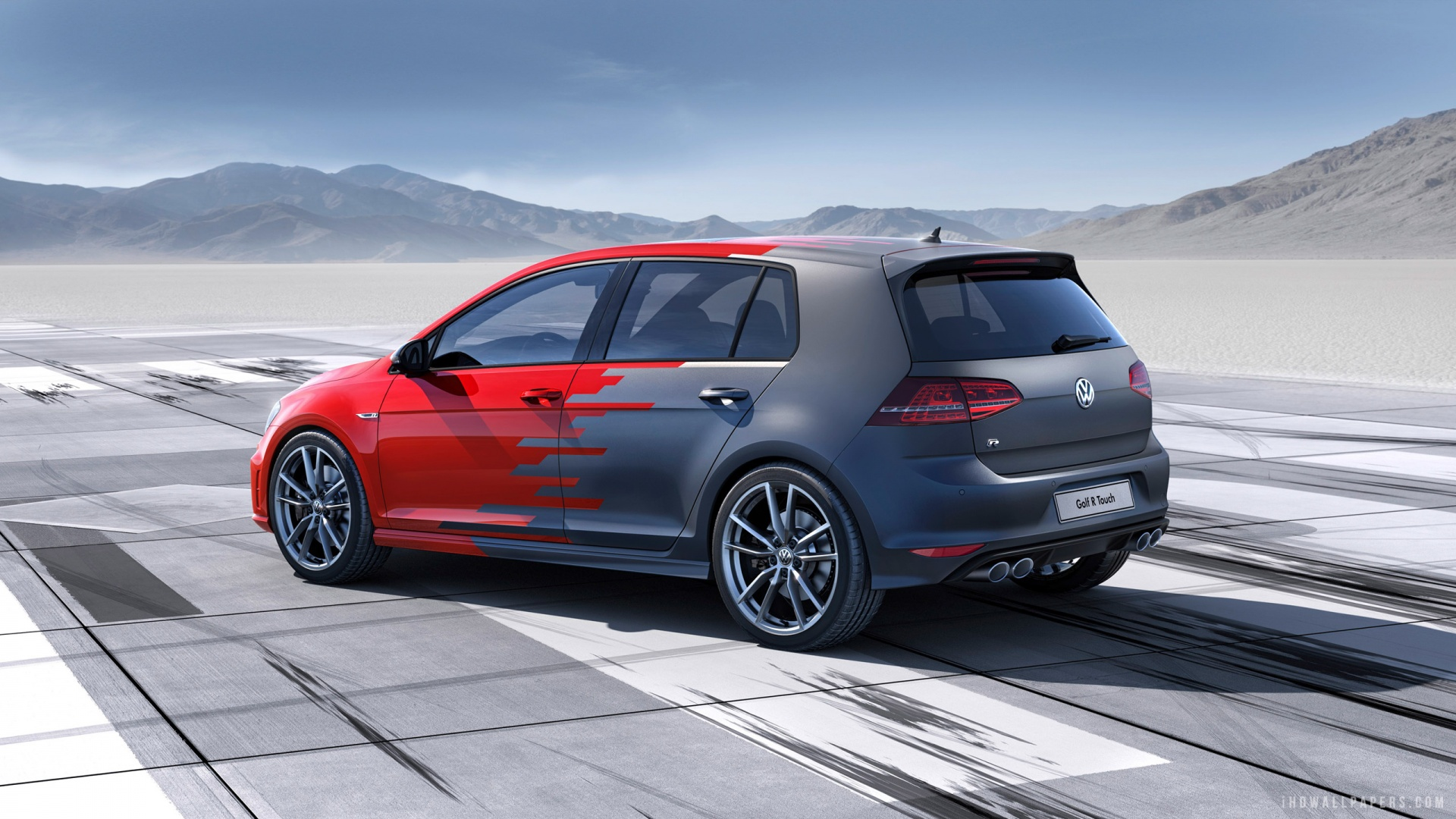 Volkswagen Golf R Touch Concept 2015 HD Wallpaper   iHD Wallpapers 1920x1080