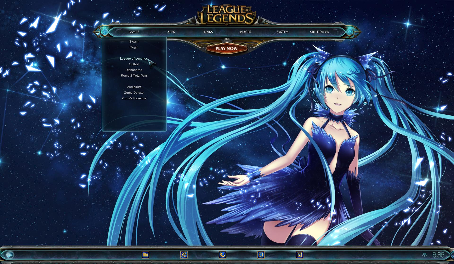 League of Legends Desktop by yorgash on DeviantArt