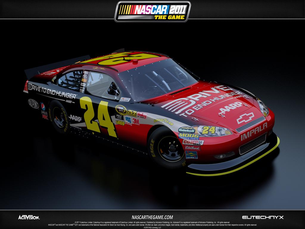 24 Jeff Gordon Drive to End Hunger 2011 1024x768