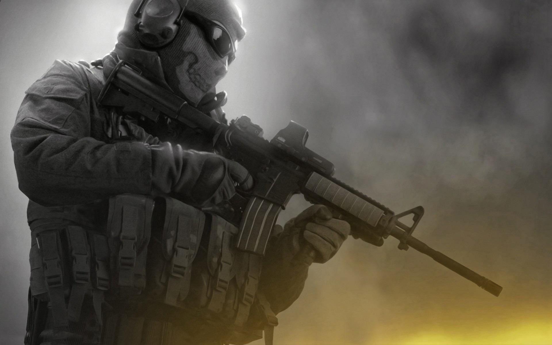 Modern Warfare 2 Ghost Wallpaper 151970