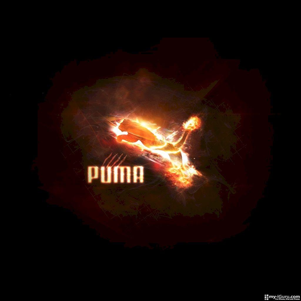 Puma Logo Wallpapers HD Backgrounds WallpapersIn4knet 1024x1024
