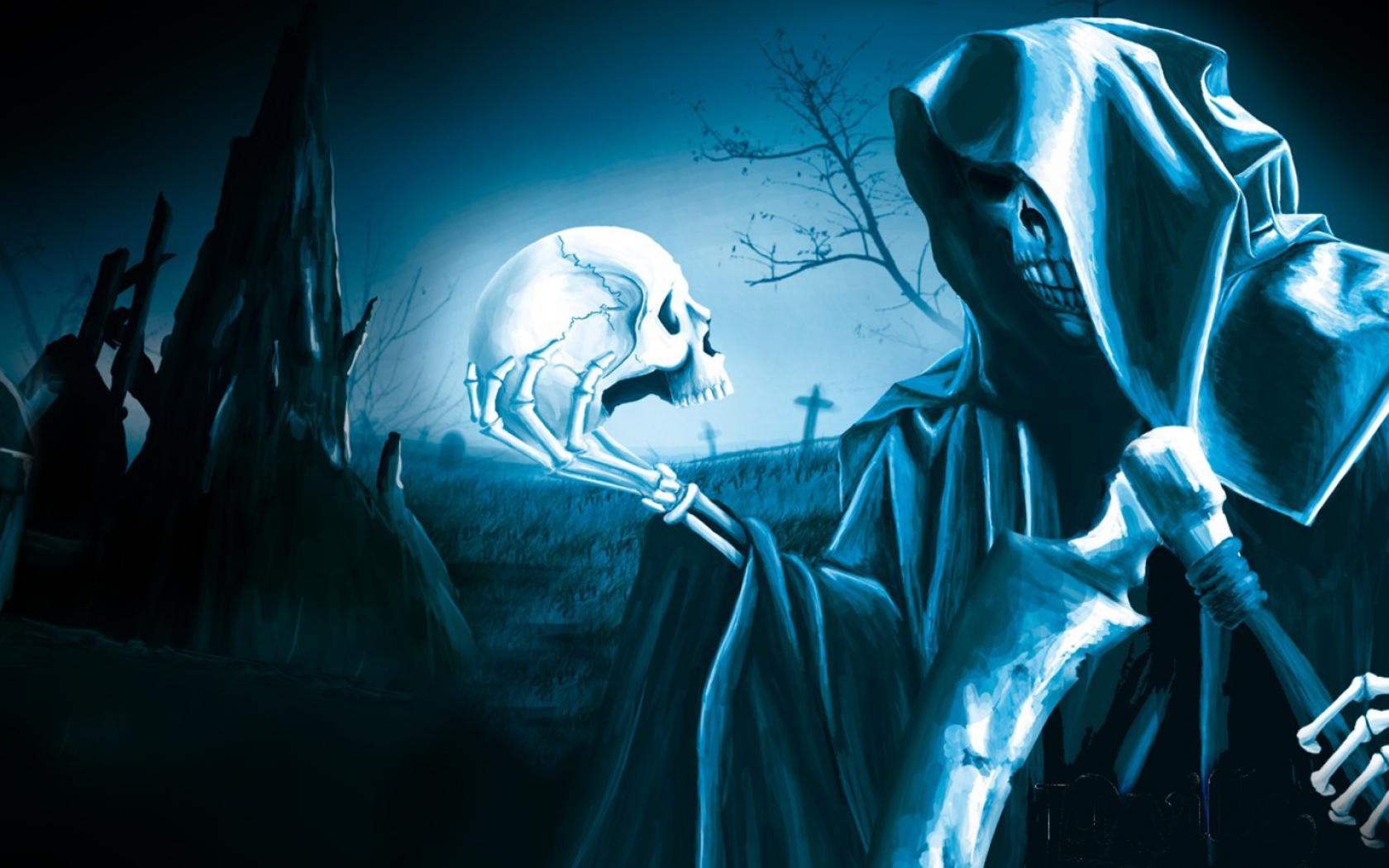 Grim Reaper With Wings Wallpaper wallpaper wallpaper hd 1680x1050