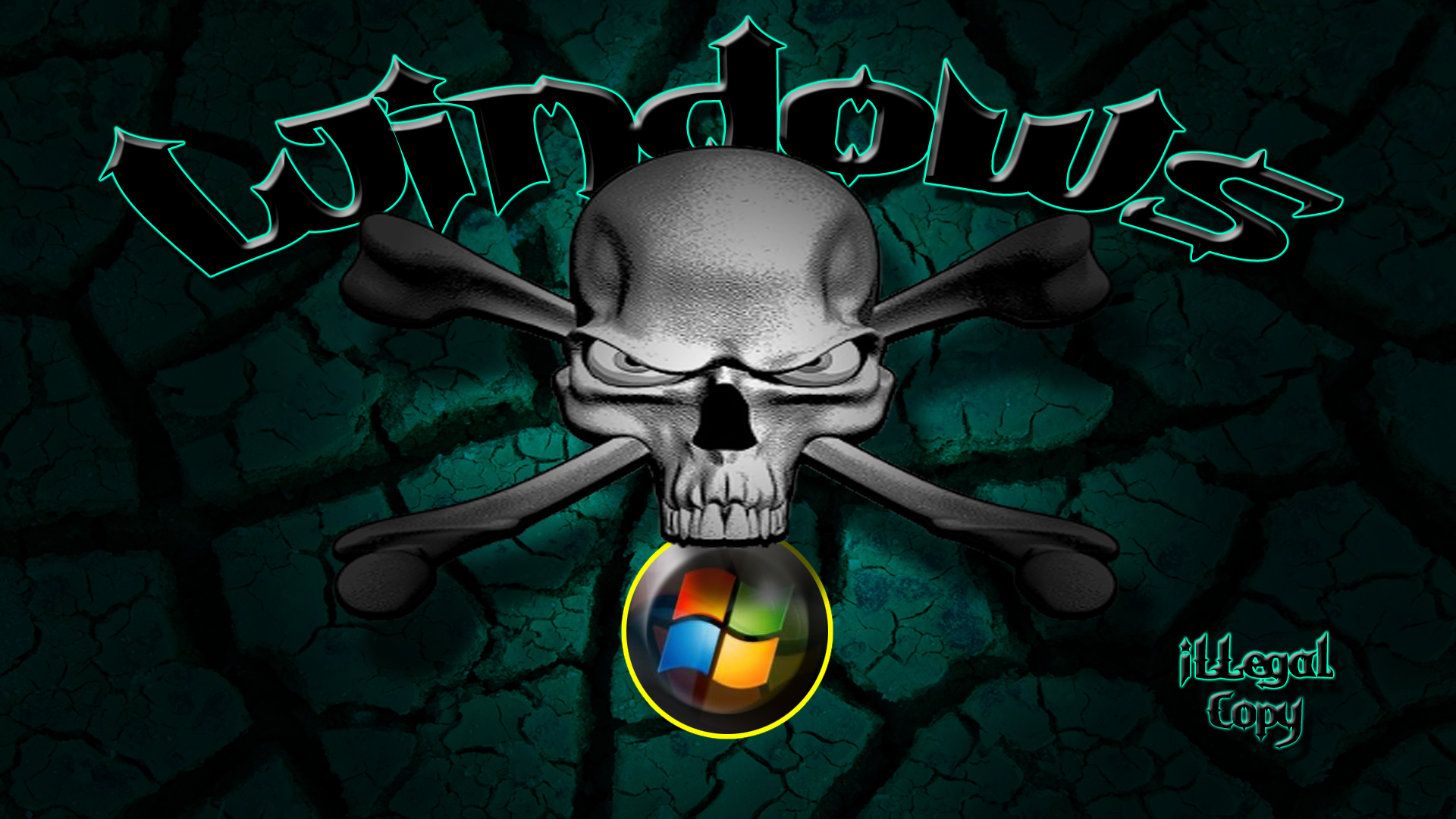 skull wallpaper for windows 7 - photo #5