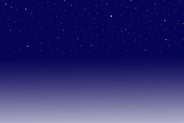 Cold night sky Graphic of a cold night sky 600x400