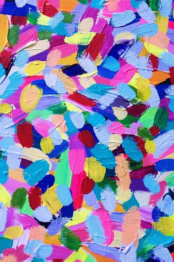40 Artistic Abstract Painting Ideas for Beginners Abstract 600x900