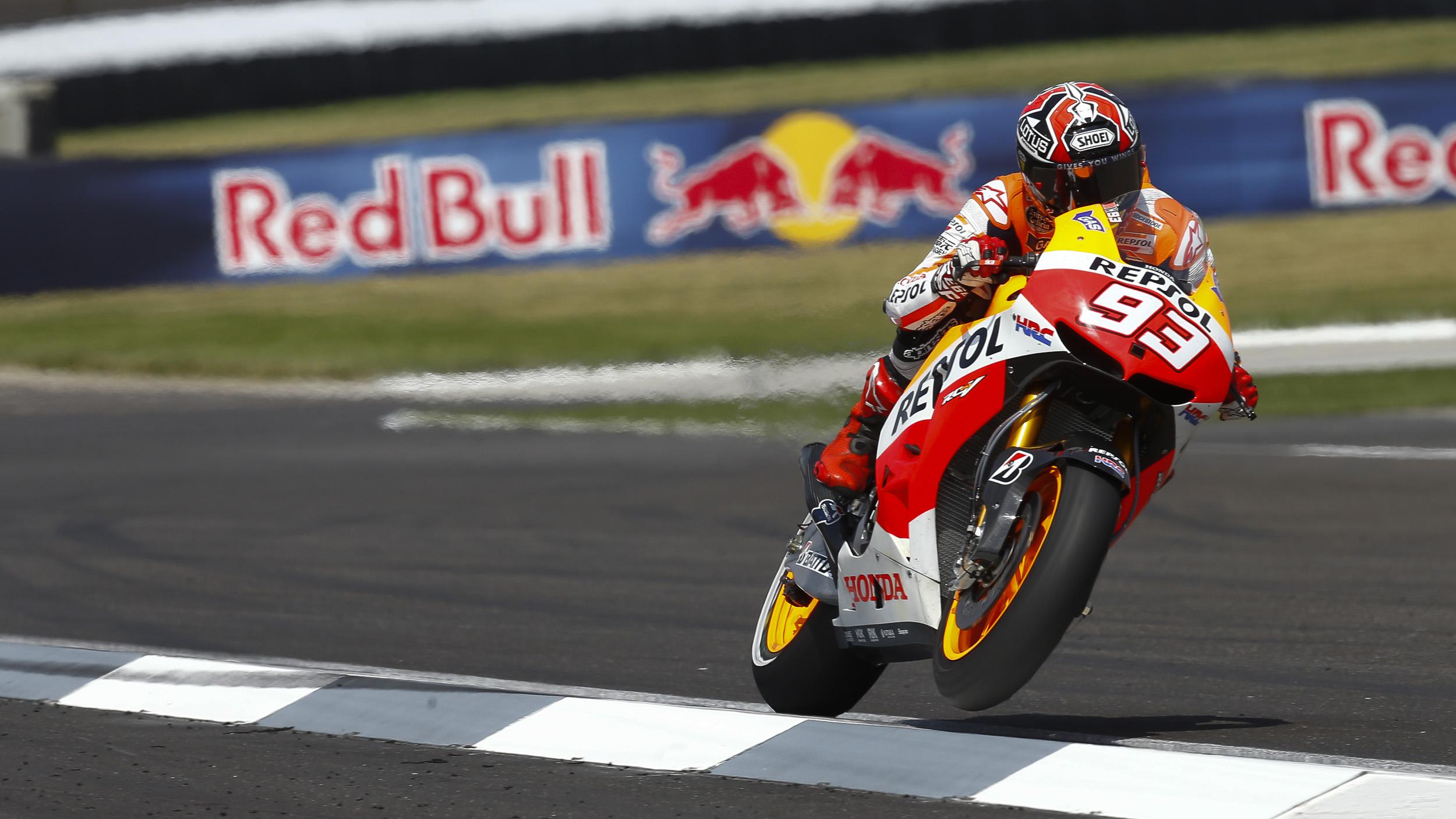 Cool Marc Marquez In MotoGP HD Wallpaper Wallpaper with 2500x1406 2500x1406