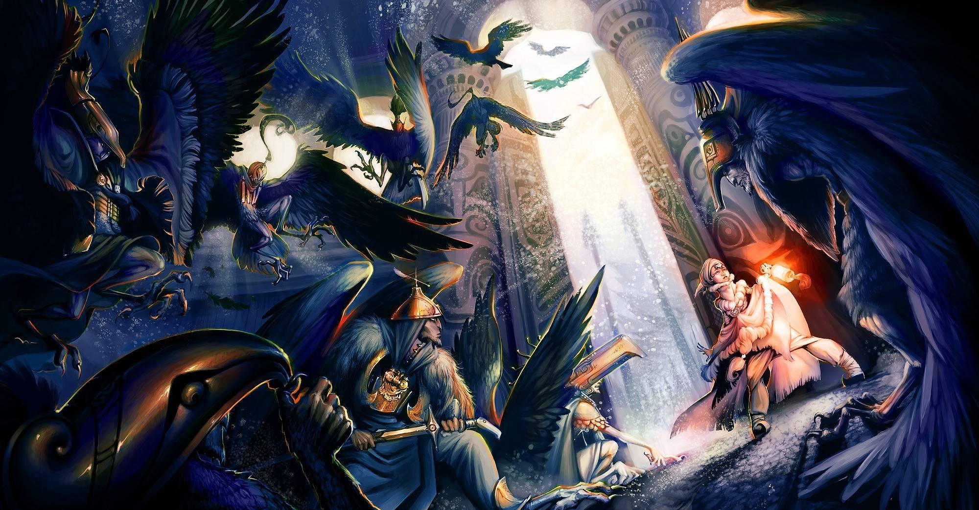 Deviantart Fantasy 20001043 Wallpaper 2360436 2000x1043