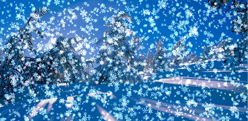 live snow falling wallpaper wallpapersafari