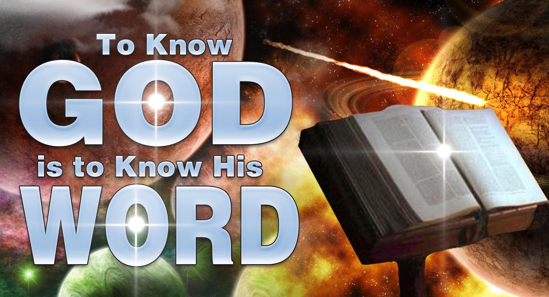 To Know God is to Know His Word Biblical Proof 1920x1040