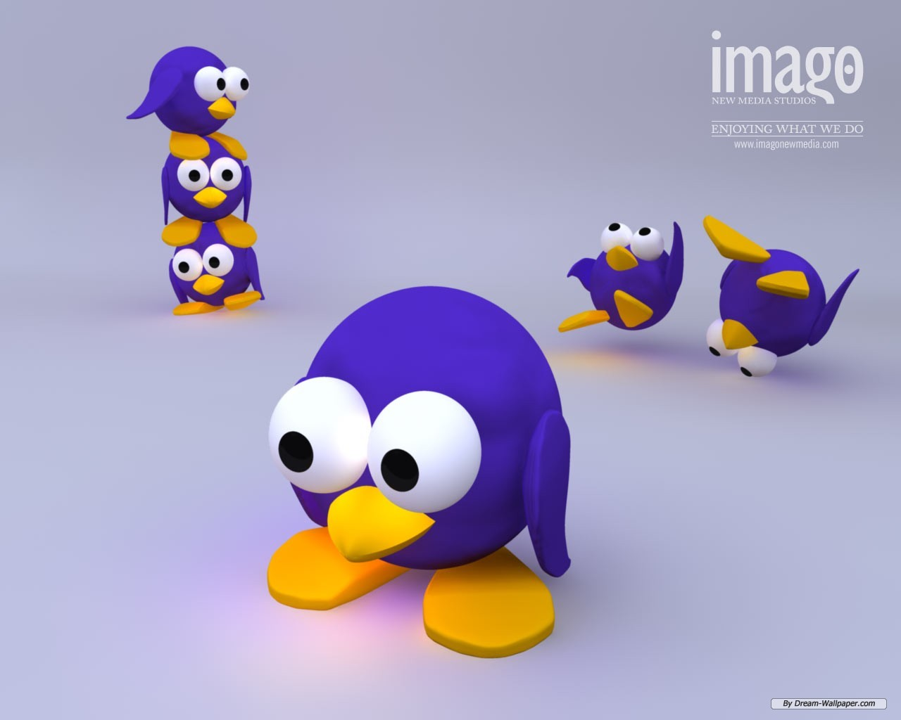 3d Cartoon Desktop Wallpaper Wallpapersafari