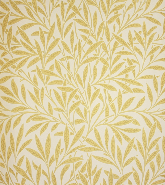 Willow Wallpaper in Camomile William Morris Archive Wallpaper 534x598