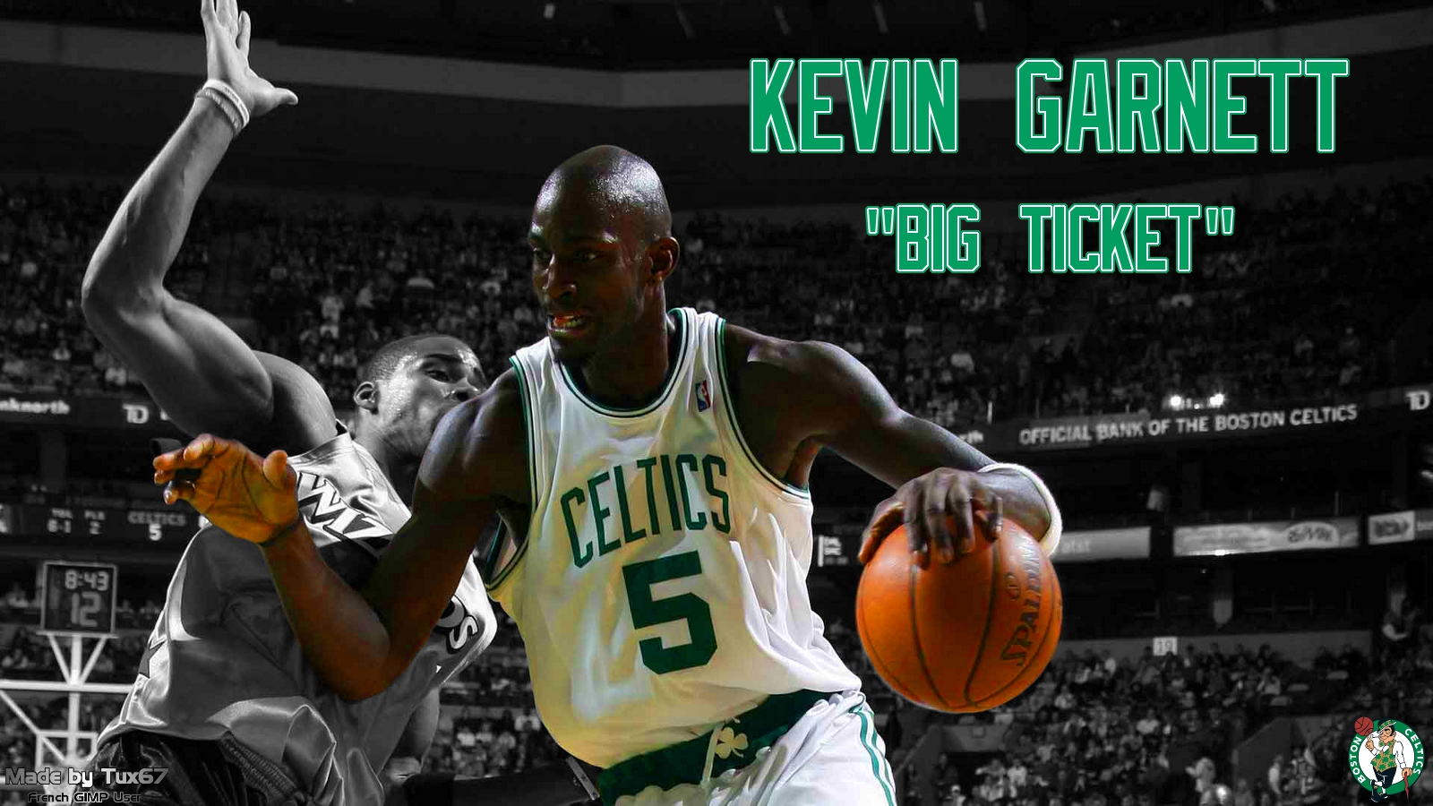 Kevin Garnett Wallpaper My Sports Wallpapers 1600x900