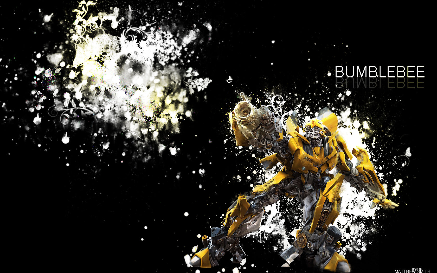 BumbleBee Wallpaper 1680x050 1680x1050