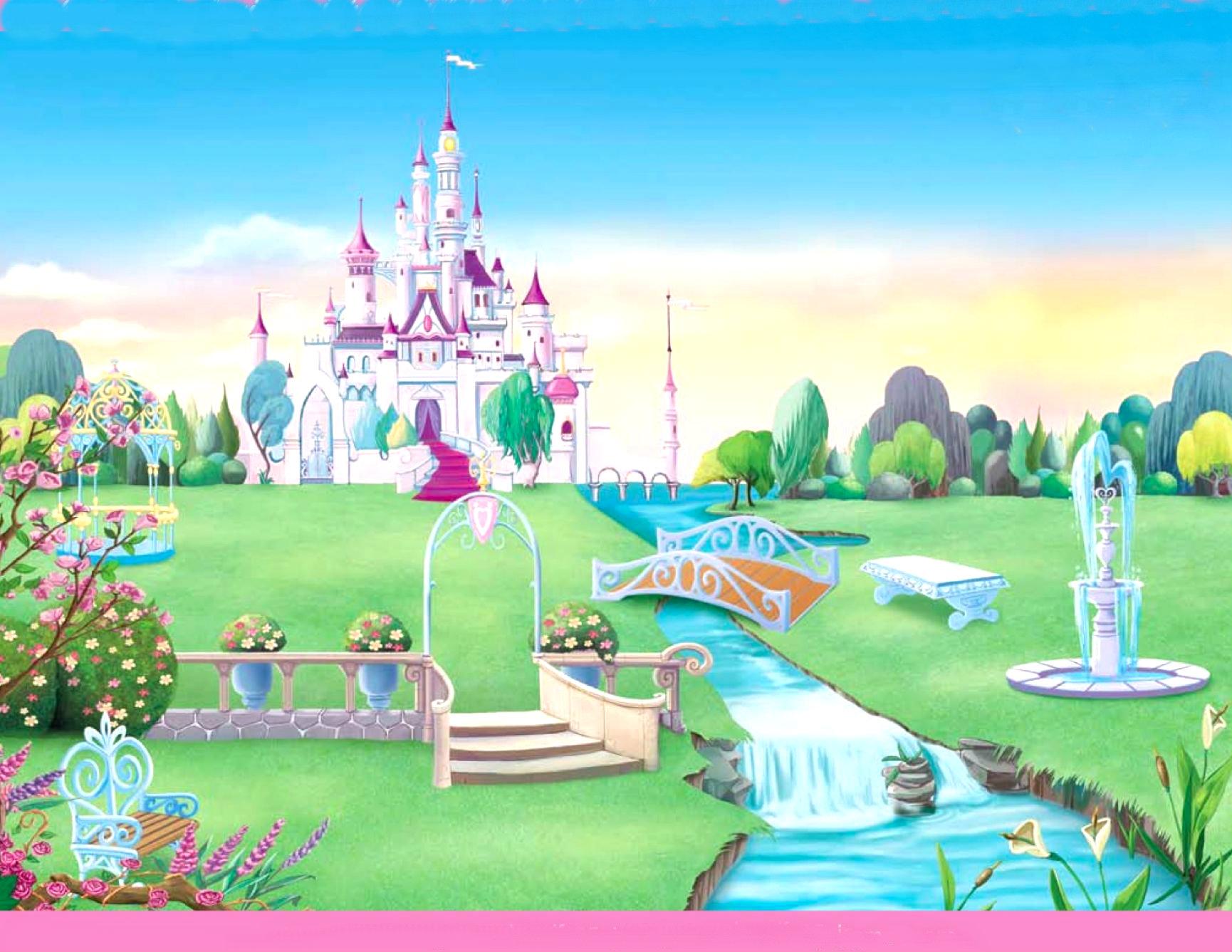 Wall Murals Nature Disney Princess Castle Wallpaper Wallpapersafari