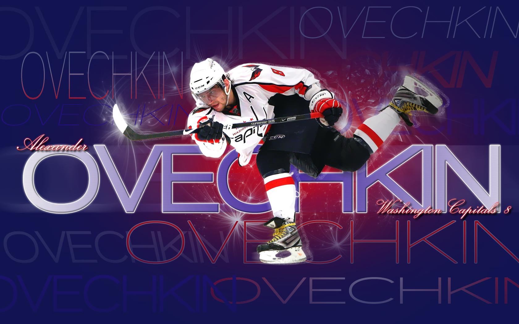 Wallpaper 1680x1050 Hockey Alexander Ovechkin Washington Capitals 1680x1050