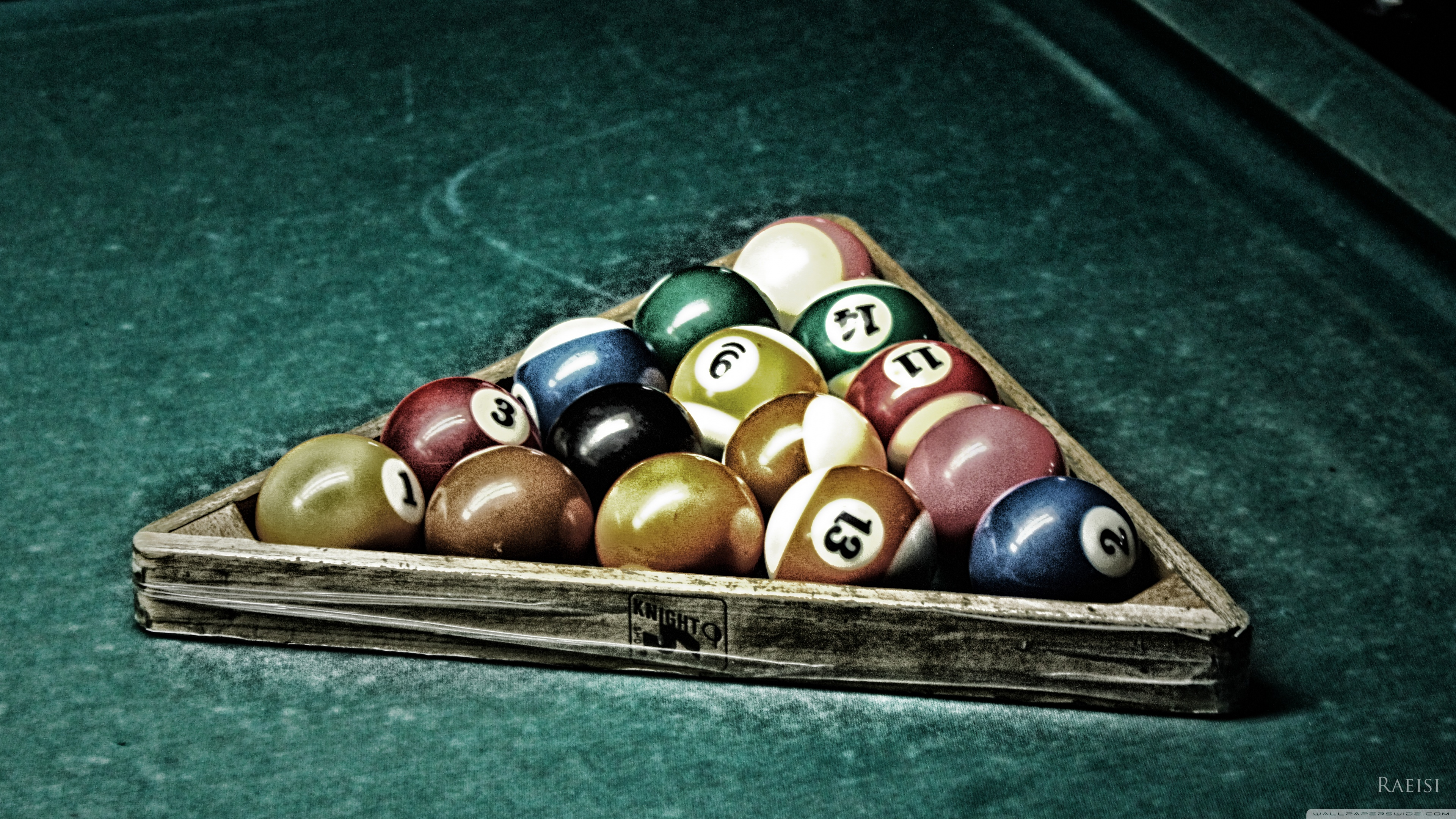 Billiard 4K HD Desktop Wallpaper for 4K Ultra HD TV Wide 3840x2160
