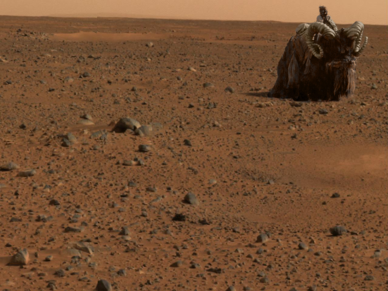 curiosity rover on mars background - photo #15