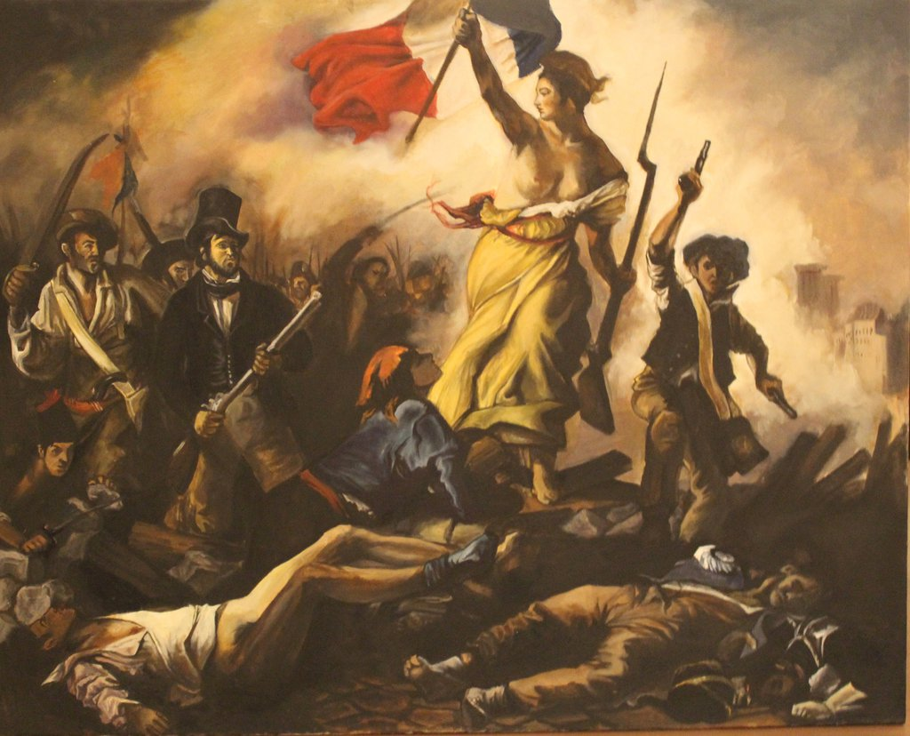 essay on liberty leading the people Liberty leading the people is both a political and allegorical work an important deviation from the neoclassicism of the day, it exemplifies french romanticism - itself a stepping stone to the realist painting of gustave courbet (1819-77) as well as the symbolism of gustave moreau (1826-1898).