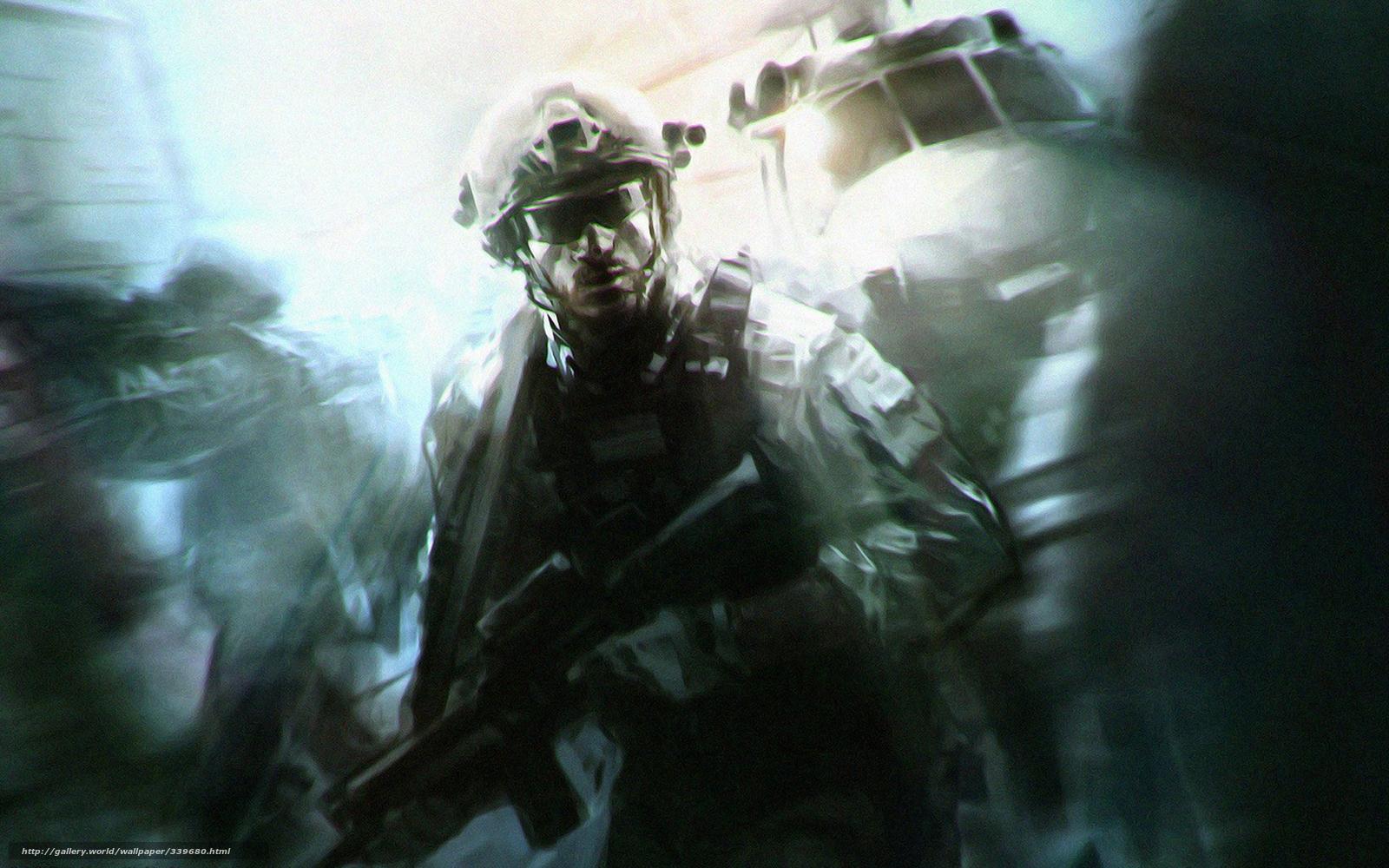 Download wallpaper Special Forces soldier desktop wallpaper in 1600x1000