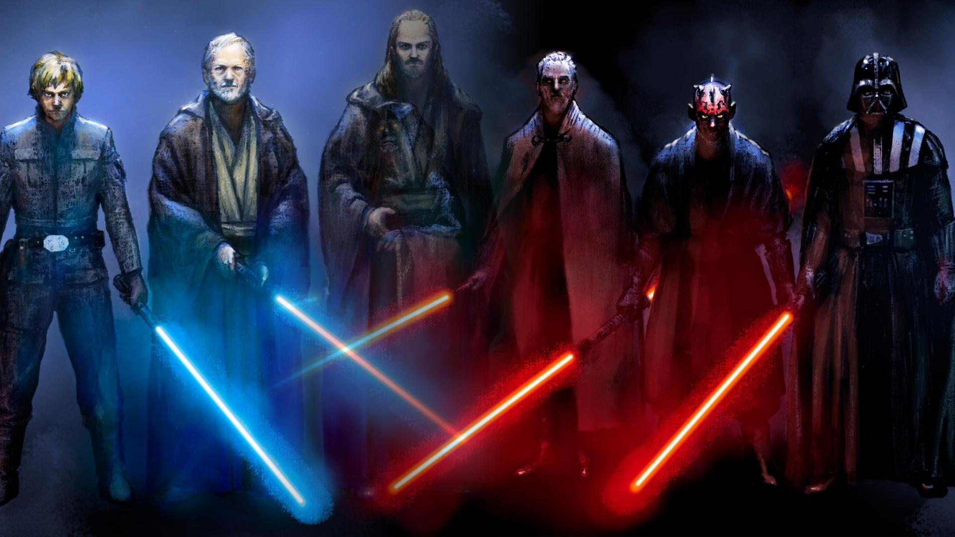 49 Sith Vs Jedi Wallpaper On Wallpapersafari