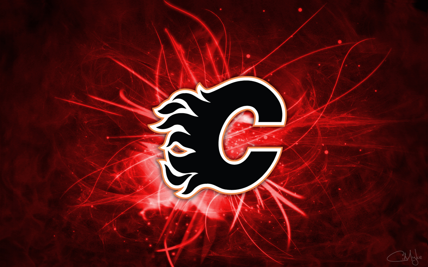 Pics Photos   Calgary Flames Background Wallpaper By Cortender 1440x900