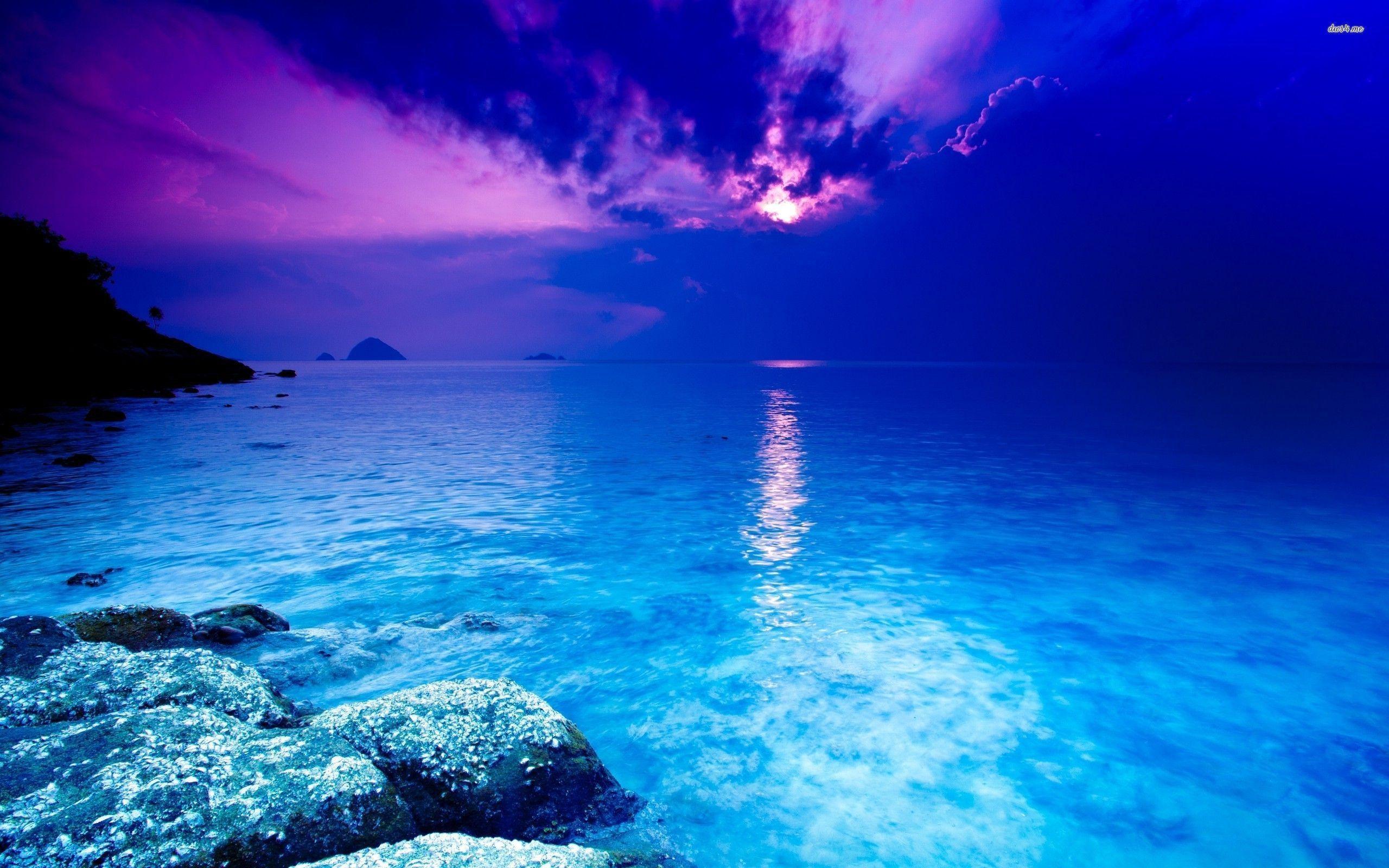 Blue Ocean Backgrounds 2560x1600