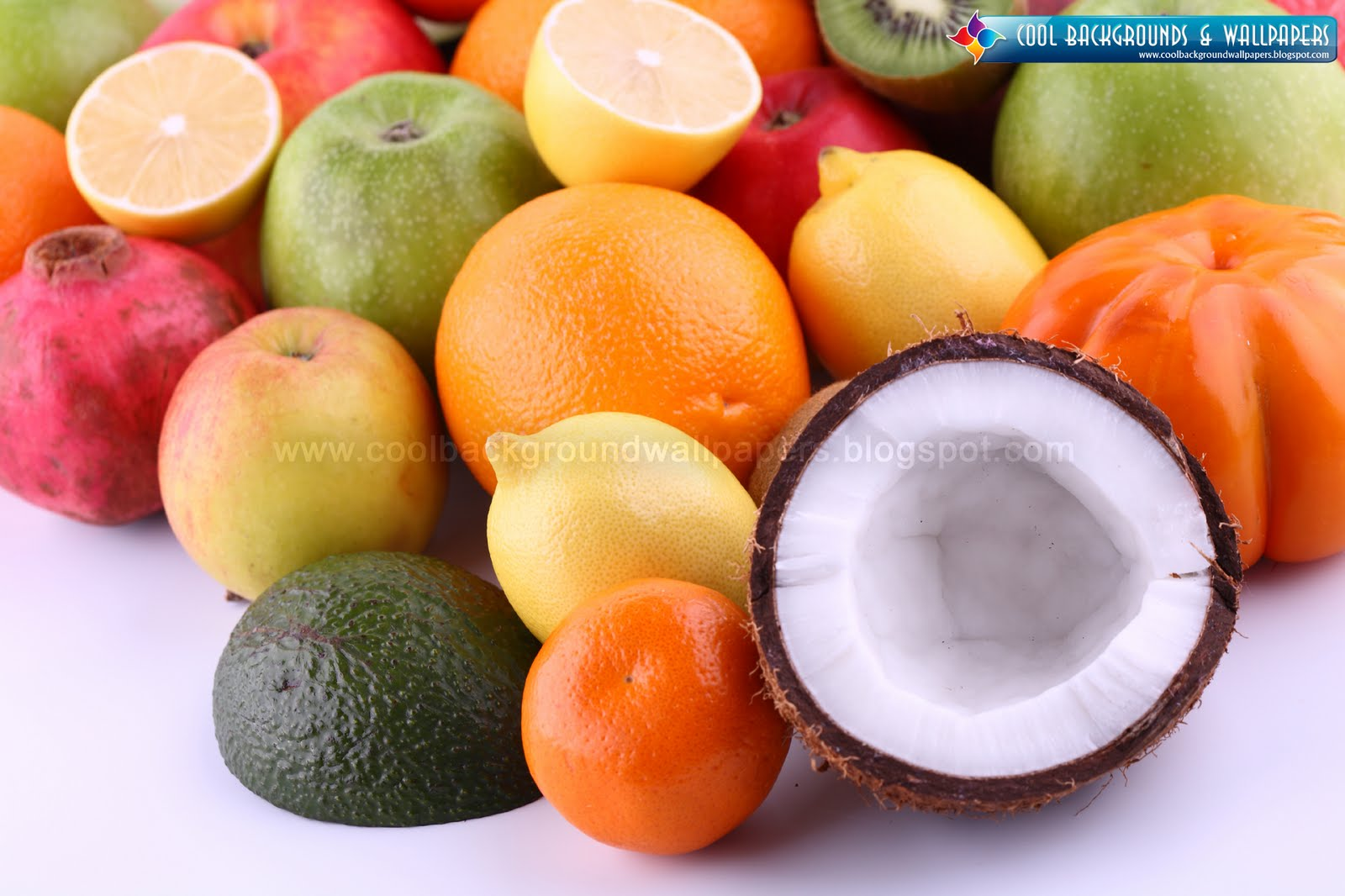 Cute Backgrounds and Wallpapers Tropical fruits Wallpapers 1600x1066