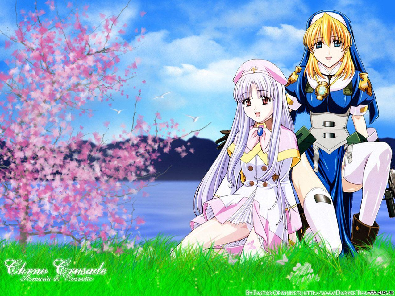 Free Download Manga Gt Wallpapers Chrno Crusade Chrno