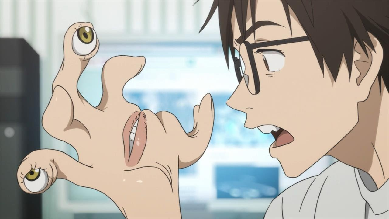 Parasyte Kiseijuu sei no Kakuritsu Anime capitulo 8 y 9 resea 1280x720