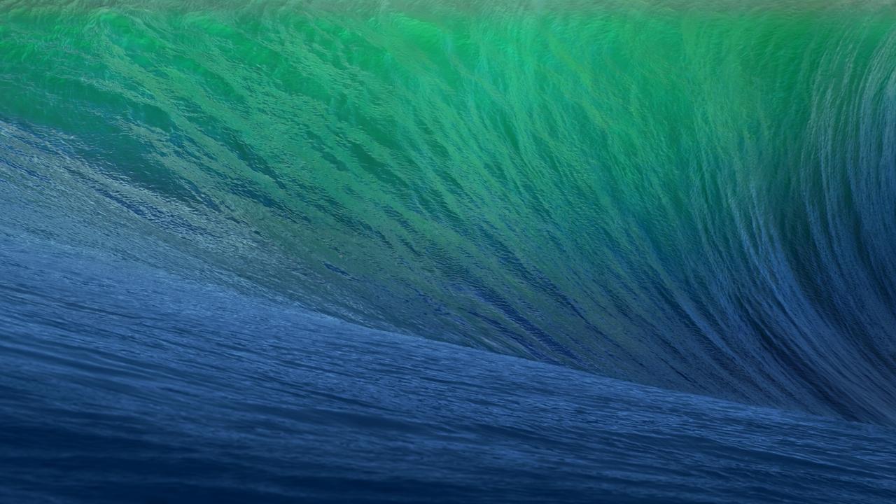 Apple News   Download the New Mac OS X Mavericks Desktop Wallpaper 1280x720