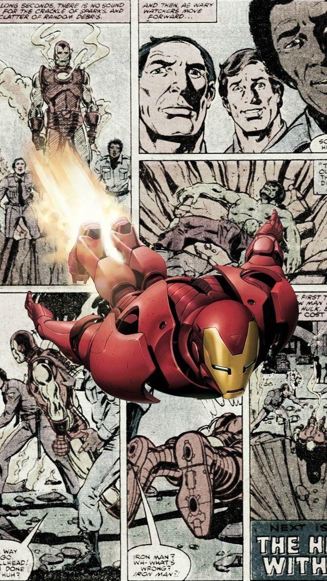 Iron man comic 640x1136