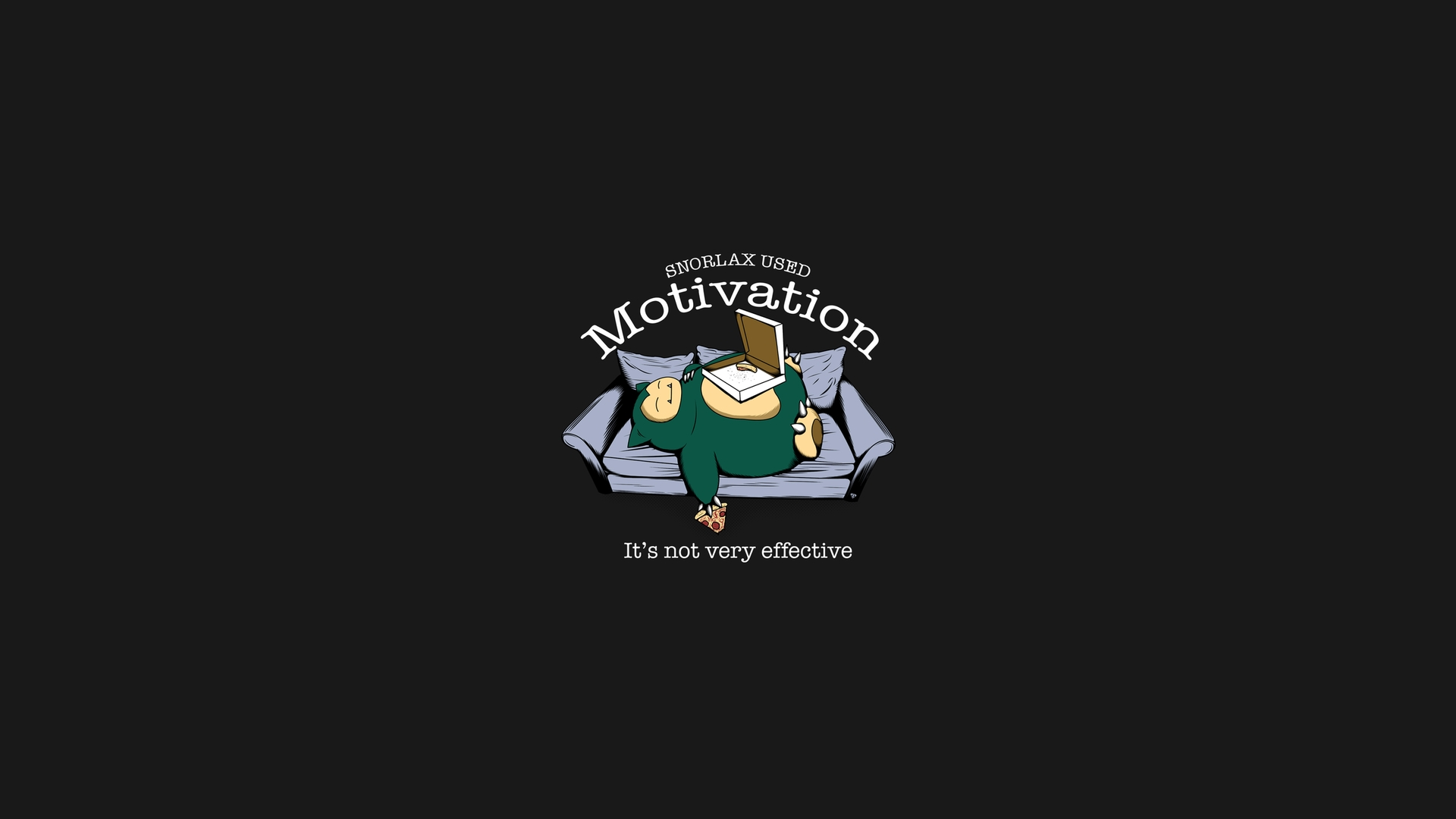 Snorlax Used Motivation [1920x1080] wallpaper 1920x1080