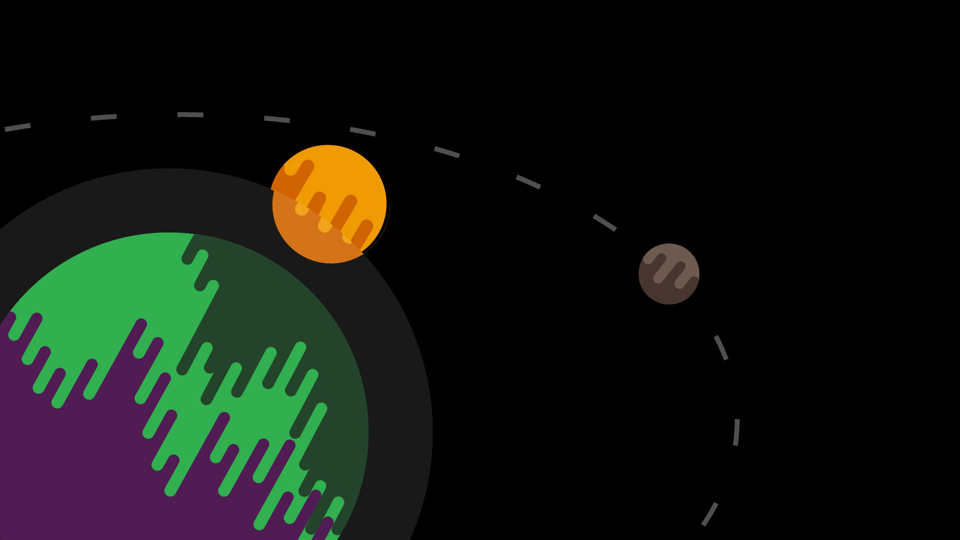 One of the minimalist wallpapers Ive made Drippy Space 1920 x 1920x1080