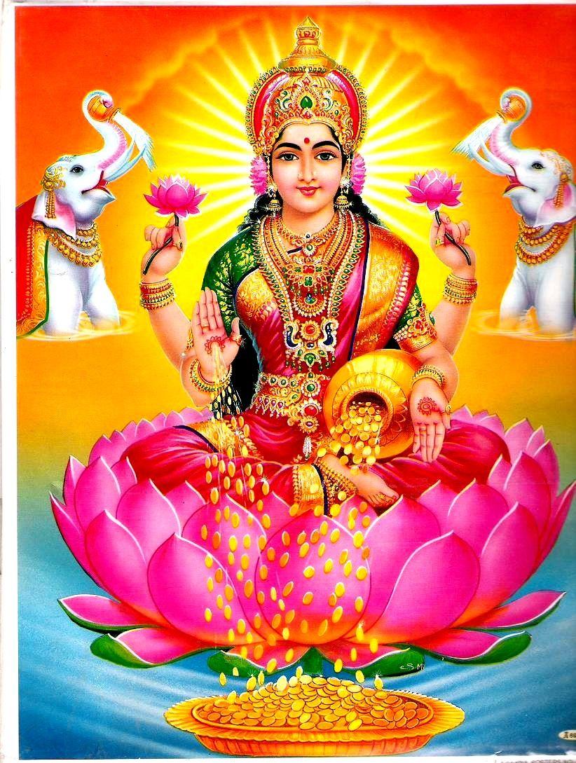 26 God Lakshmi Wallpapers On Wallpapersafari