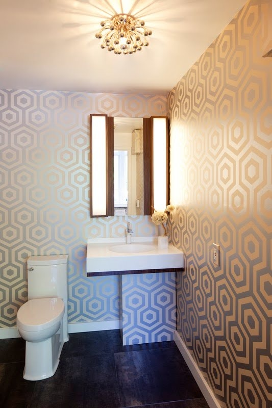 modern funky bathroom by Vanillawood Building my dream home Pi 533x800