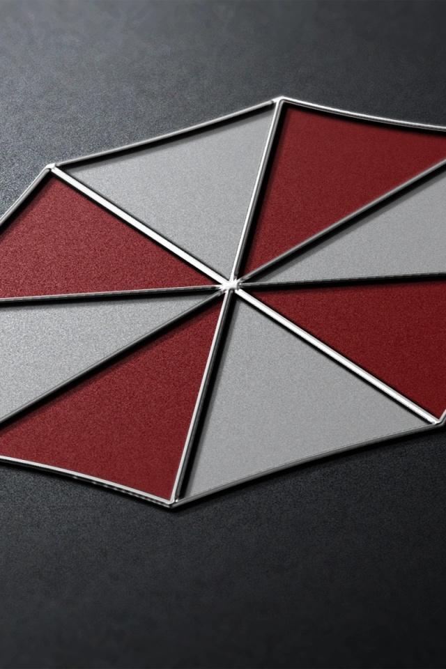 640x960 Resident Evil Umbrella Corp Iphone 4 wallpaper 640x960