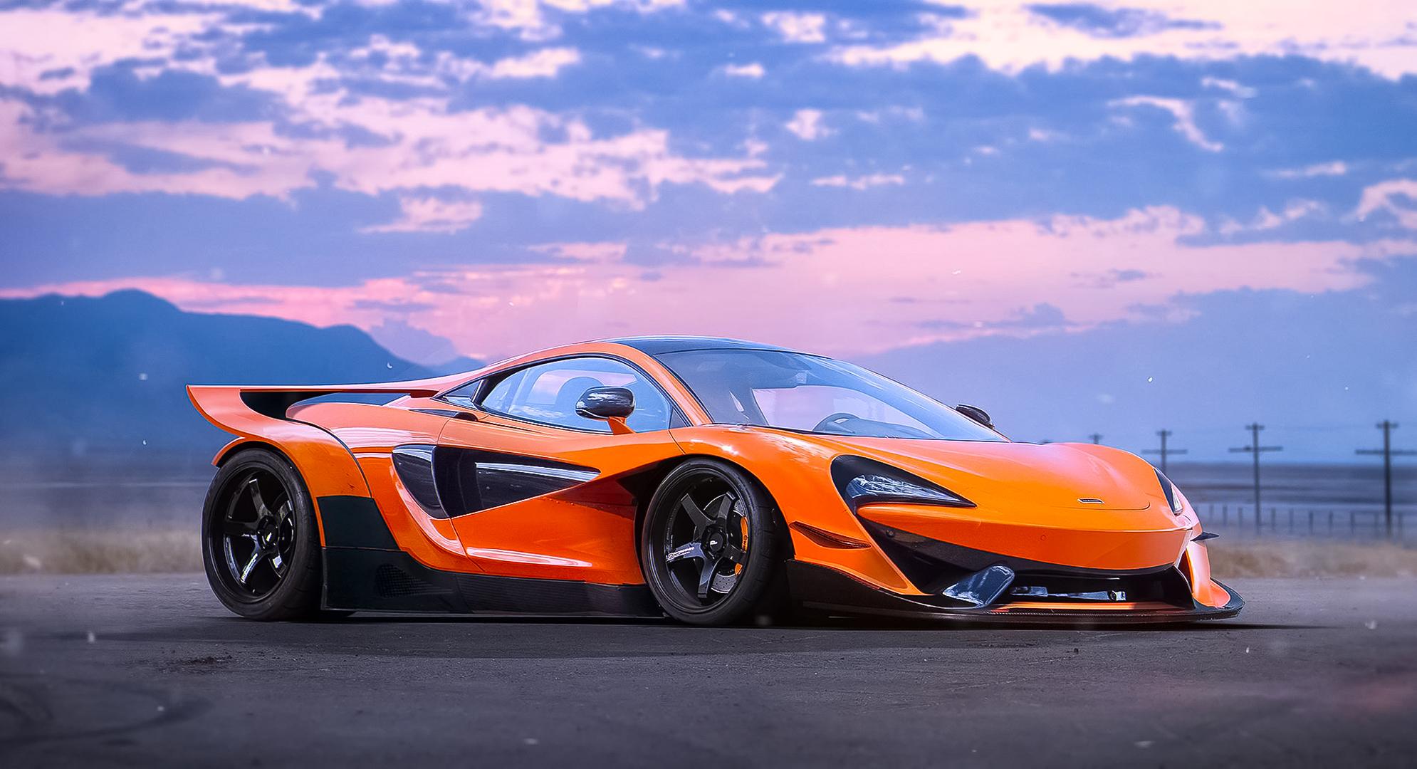 McLaren 570S HD Wallpaper Background Image 1990x1080 ID 1990x1080