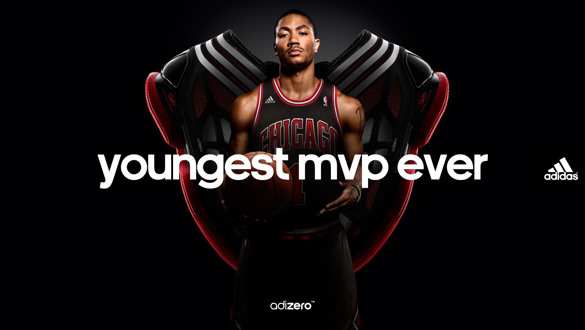 Check out the wallpaper from adidas Basketball featuring Rose and the 1920x1083