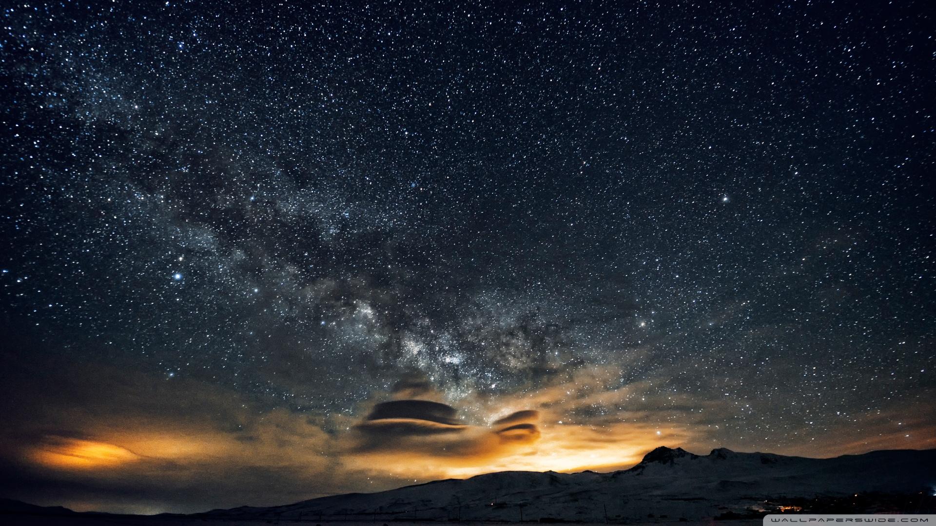 Beautiful night sky in Armenia [Wallpaper] Reviews news tips and 1920x1080