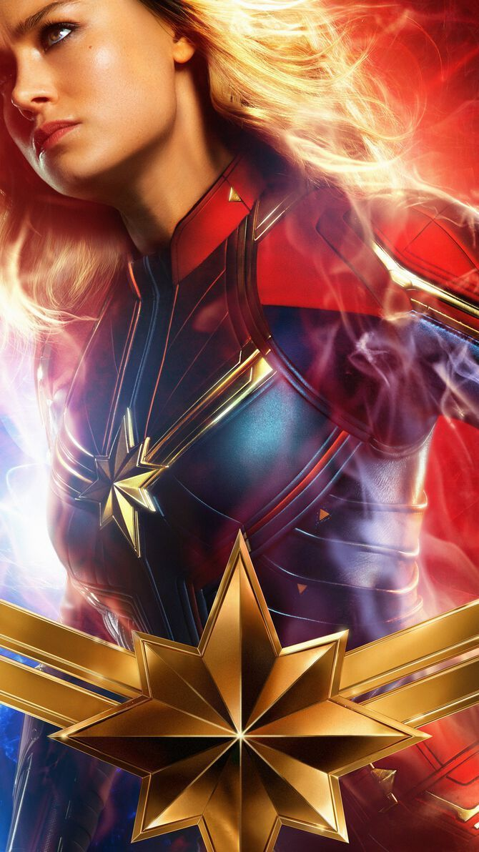 Captain Marvel Phone Wallpapers   Top Captain Marvel Phone 670x1192