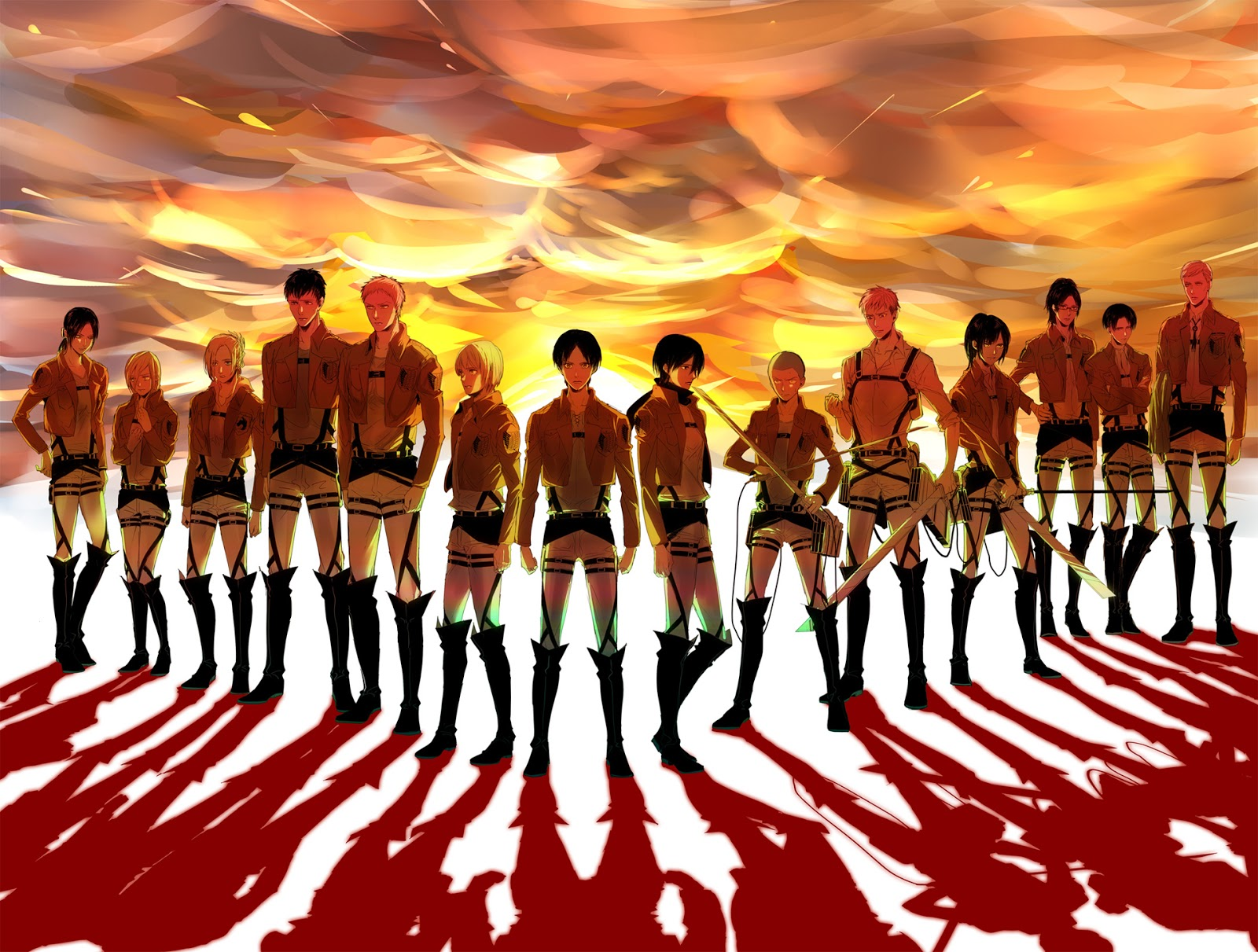 Attack on Titan Anime HD Wallpaper Animation Wallpapers 1600x1211