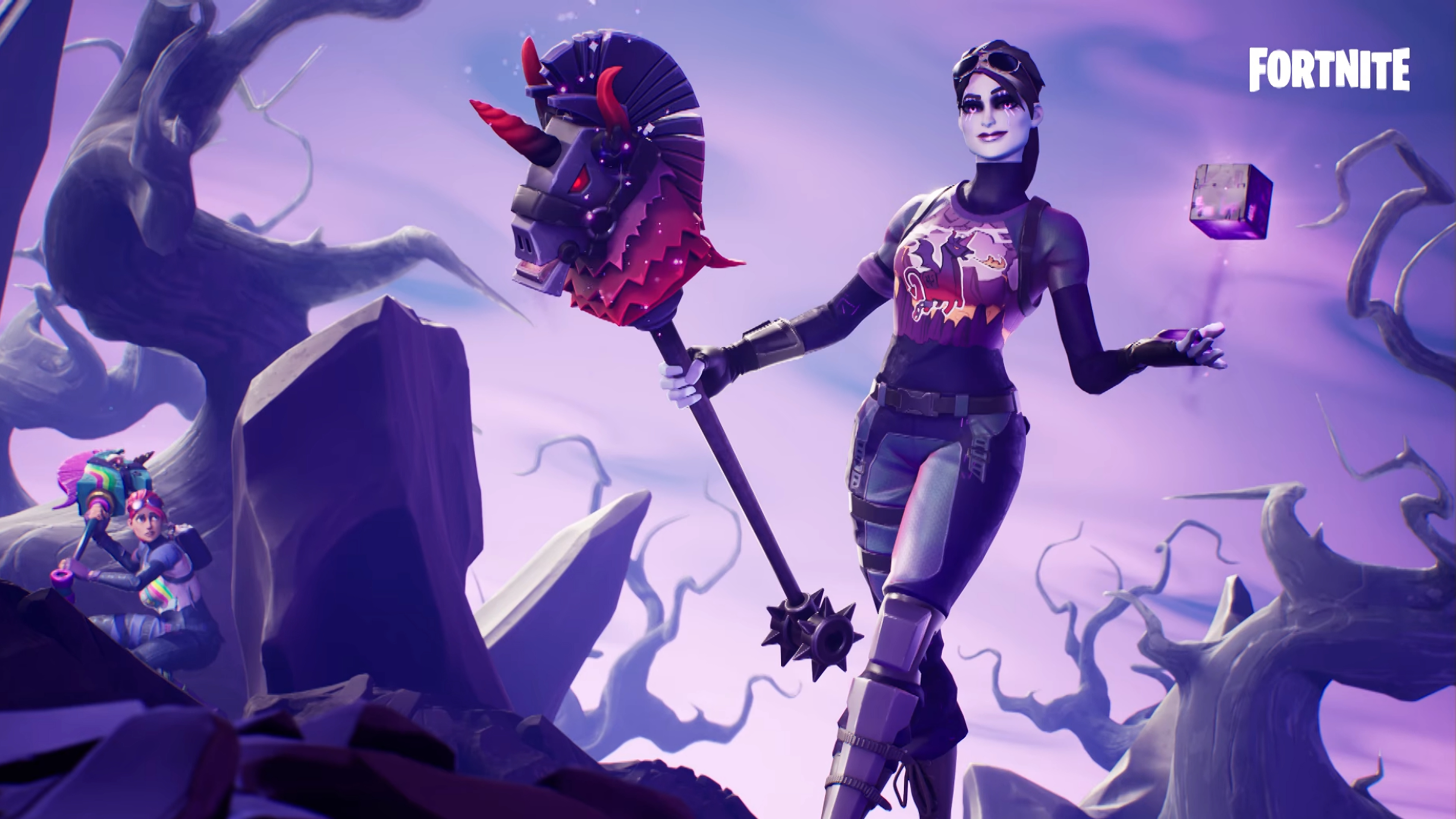 35 Dark Bomber Fortnite Wallpapers On Wallpapersafari