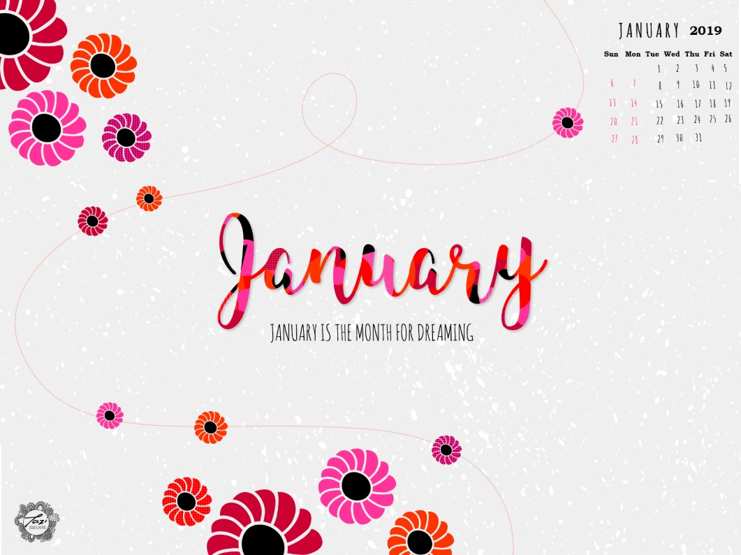 January 2019 HD Calendar Wallpapers Latest Calendar 1061x794