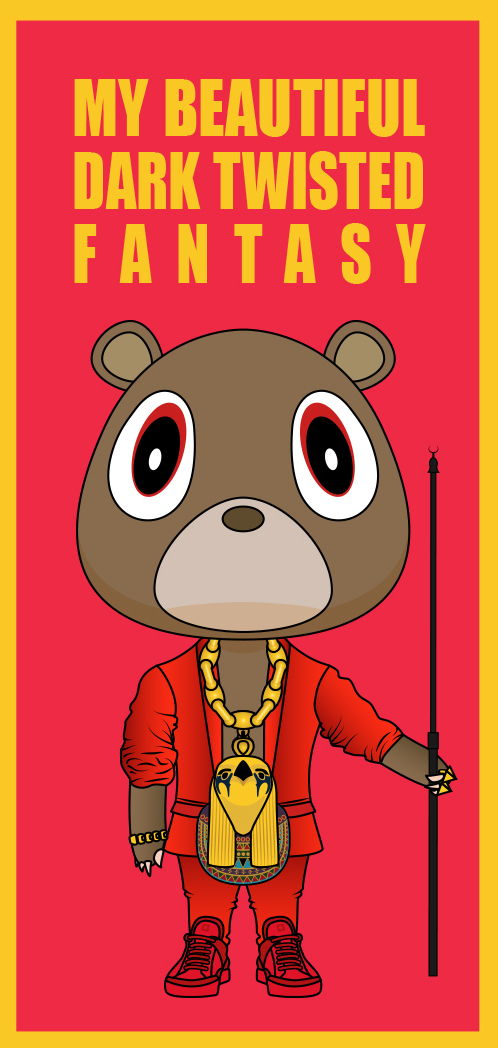 My Beautiful Dark Twisted Fantasy iPhone Wallpaper KanyeWallpapers 498x1048