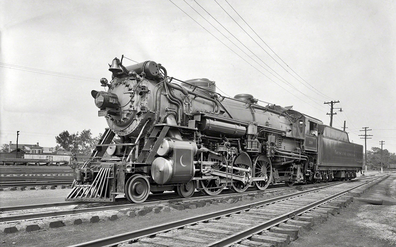 Vintage train wallpaper 17791 1680x1050