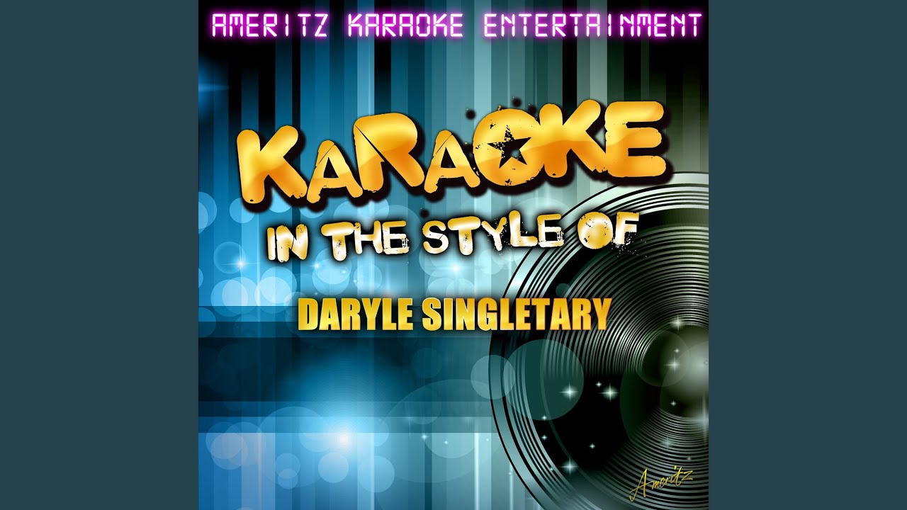 Amen Kind of Love In the Style of Daryle Singletary Karaoke 1920x1080