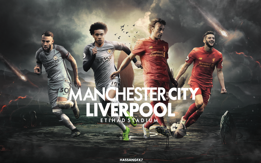 Liverpool   Manchester City Matchday Wallpaper by 1024x640