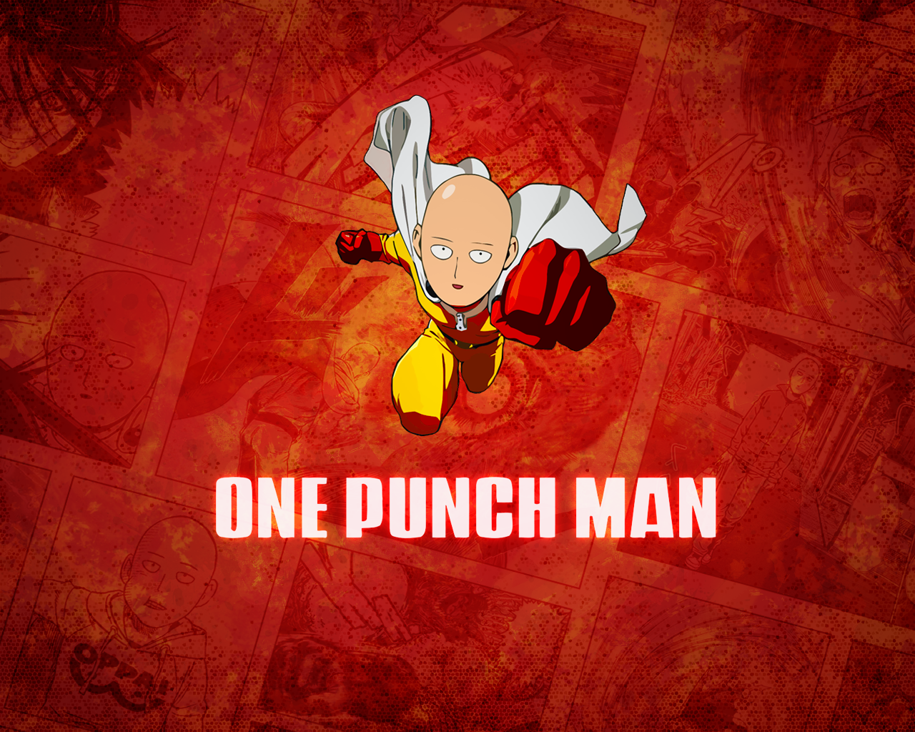 One Punch Man Saitama Wallpaper - WallpaperSafari