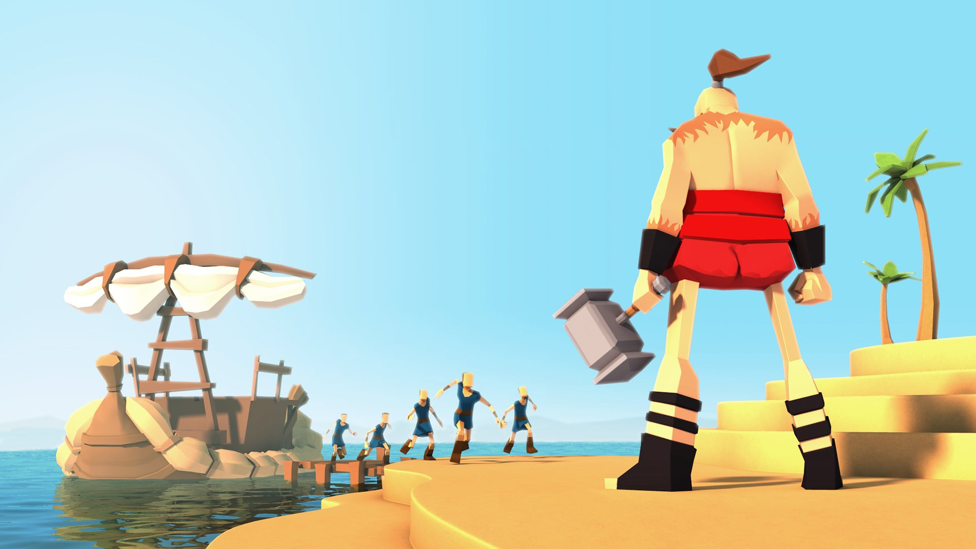 GODUS god gods fantasy strategy adventure simulator sandbox giant 1920x1080