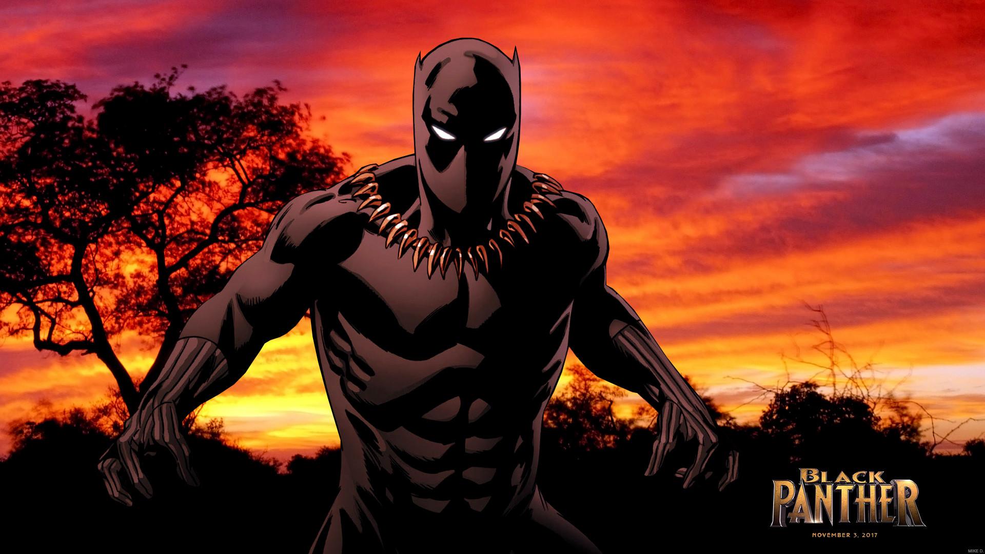 Black Panther Marvel HD Wallpaper 16 1920x1080